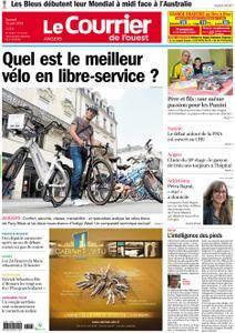Le Courrier de l'Ouest Angers - 16 juin 2018
