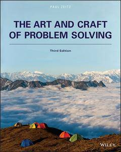 The Art and Craft of Problem Solving, 3rd Edition