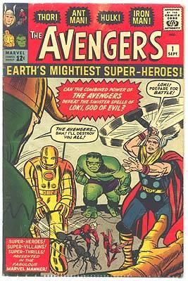 Avengers Issue #1 Volume 1