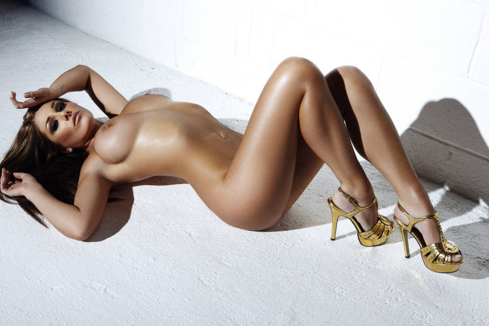 Lucy Pinder by Frank White