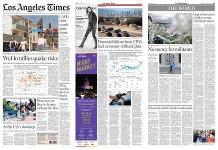 Los Angeles Times – May 03, 2018