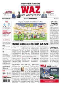 WAZ Westdeutsche Allgemeine Zeitung Oberhausen-Sterkrade - 30. Dezember 2017