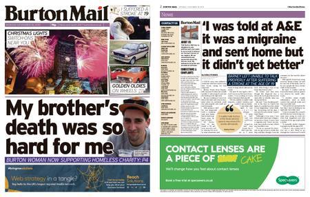 Burton Mail – November 18, 2019