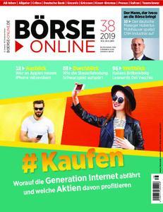 Börse Online – 19. September 2019