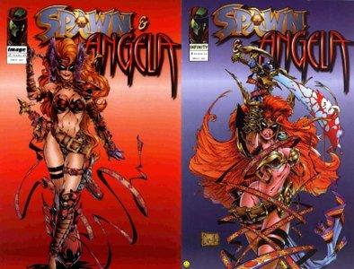 Spawn & Angela 1 & 2 - Comic