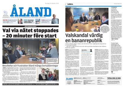 Ålandstidningen – 10 oktober 2019