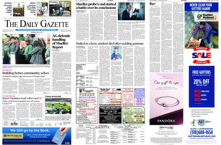 The Daily Gazette – May 02, 2019