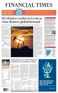 Financial Times Asia - April 21, 2020