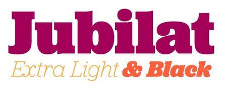 Jubilat™ Font Family by Darden Studio