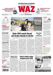 WAZ Westdeutsche Allgemeine Zeitung Oberhausen-Sterkrade - 02. Januar 2018