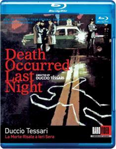 Death Occurred Last Night (1970) La morte risale a ieri sera