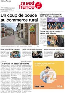 Ouest-France Édition France – 21 septembre 2019