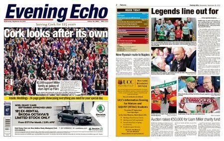 Evening Echo – September 26, 2018