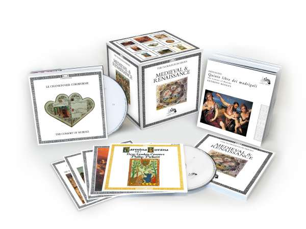 VA - Medieval & Renaissance: The Florilegium Series (50 CDs, 2016)