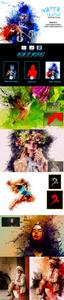 Water Painting Photoshop Actions