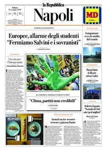 la Repubblica Napoli – 25 maggio 2019