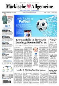Märkische Allgemeine Luckenwalder Rundschau - 23. August 2018
