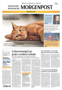 Solinger Morgenpost – 23. März 2019