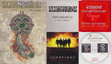 Scorpions: Singles Collection part 4 + DVD (2004-2010)