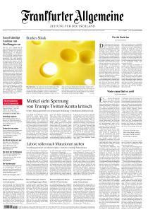 Frankfurter Allgemeine Zeitung - 12 Januar 2021