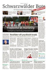 Schwarzwälder Bote Hechingen - 25. März 2019
