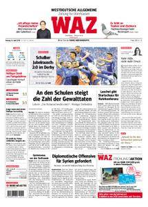 WAZ Westdeutsche Allgemeine Zeitung Oberhausen-Sterkrade - 16. April 2018