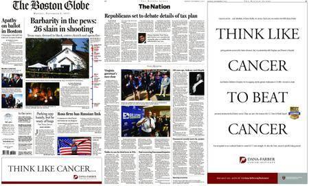 The Boston Globe – November 06, 2017