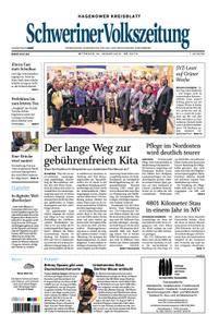 Schweriner Volkszeitung Hagenower Kreisblatt - 24. Januar 2018