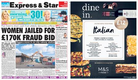 Express and Star City Edition – September 29, 2018