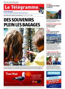 Le Télégramme Concarneau – 14 août 2019