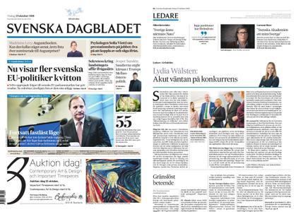 Svenska Dagbladet – 23 oktober 2018