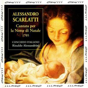 Rinaldo Alessandrini, Concerto Italiano - Alessandro Scarlatti: Cantata per la Notte di Natale (1996)