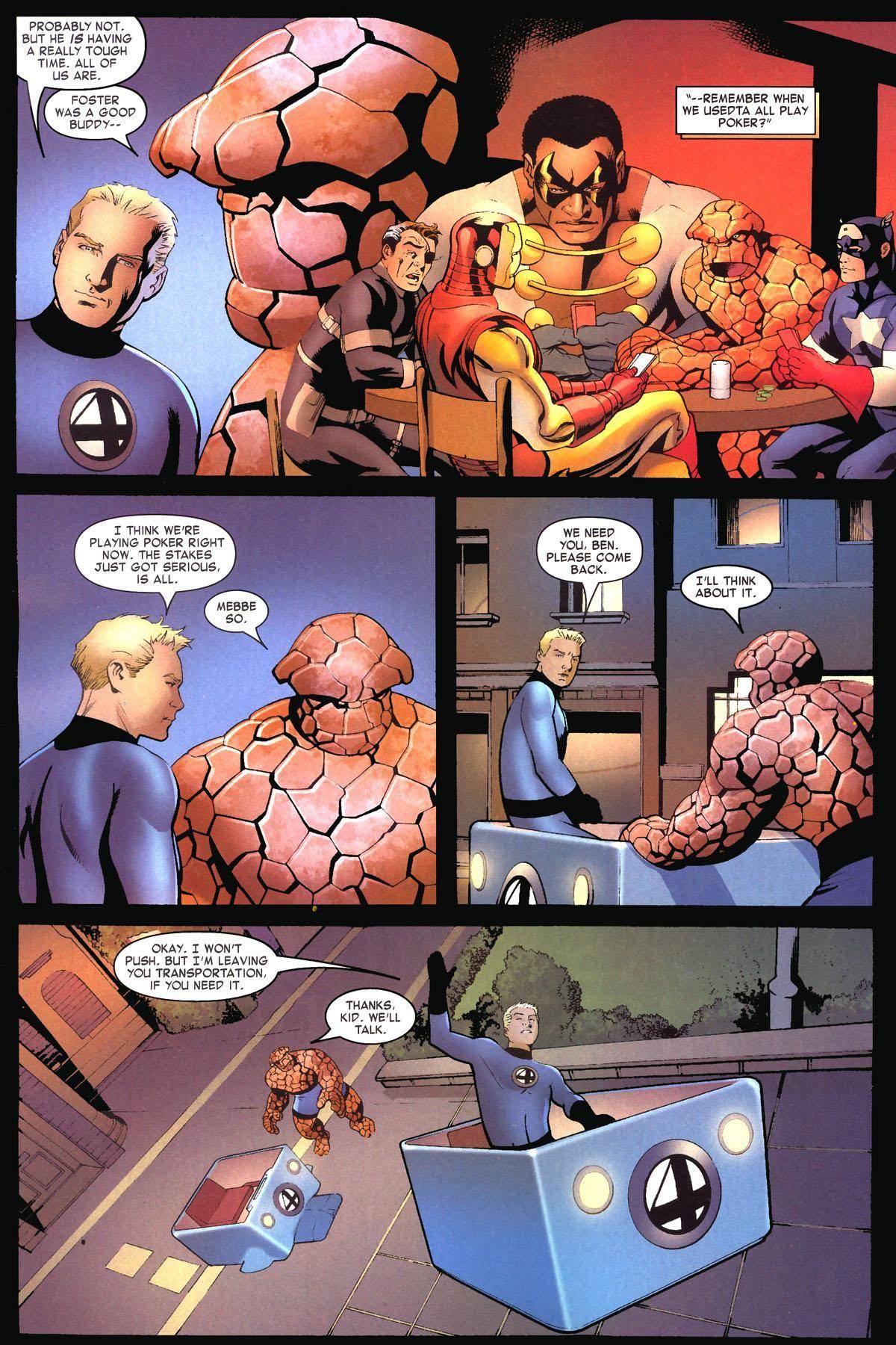 Fantastic Four 542
