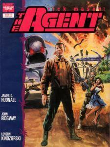 Marvel Graphic Novel 57 - Rick Mason - The Agent 1989