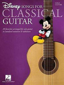 Disney Songs For Classical Guitar (Repost)