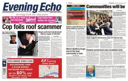 Evening Echo – November 08, 2017