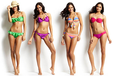 Shanina Shaik - Seafolly Swimwear PhotoShoot 2011