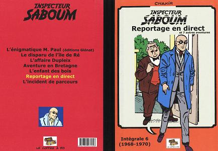 Inspecteur Saboum - Tome 6 - Reportage en Direct