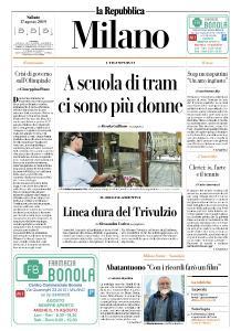 la Repubblica Milano - 17 Agosto 2019