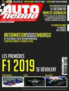 Auto Hebdo - 15 février 2019