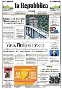 la Repubblica - 10 Luglio 2020