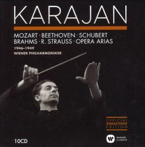 Herbert von Karajan - The Vienna Philharmonic Recordings 1946-1949 (2014) (10 CDs Box Set)