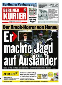 Berliner Kurier – 21. Februar 2020