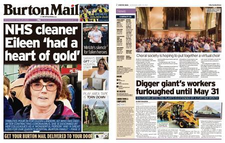 Burton Mail – April 29, 2020