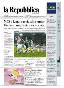 la Repubblica - 14 Maggio 2018