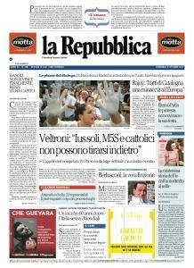 la Repubblica - 8 Ottobre 2017