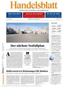 Handelsblatt - 17 März 2020