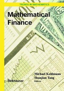 Mathematical Finance: Workshop of the Mathematical Finance Research Project, Konstanz, Germany, October 5–7, 2000