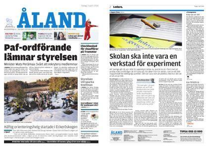 Ålandstidningen – 03 april 2018