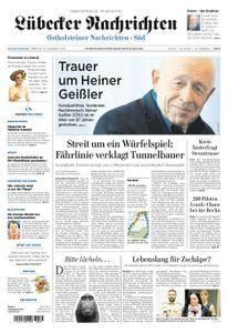 Lübecker Nachrichten Ostholstein Süd - 13. September 2017
